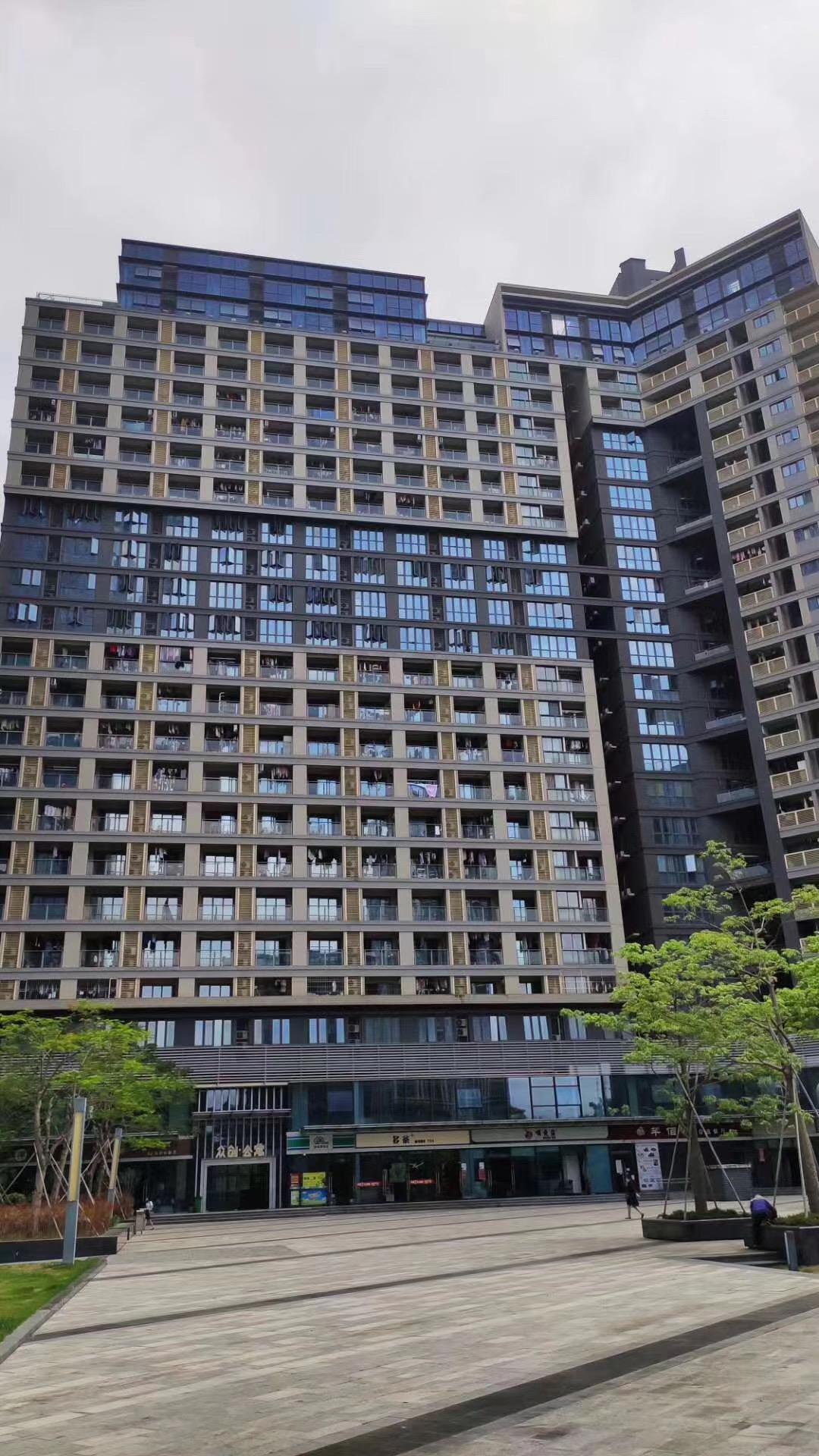 布吉【李朗花园】 地铁口100米 凉帽山站 户户大阳台 +精装交房