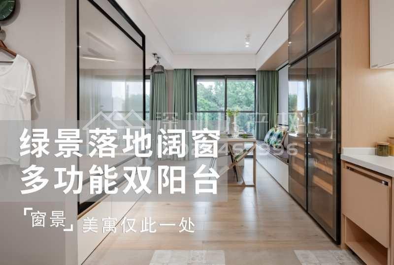 湖景楼王平湖金融中心【硅谷湖城】,首付5成49万起,