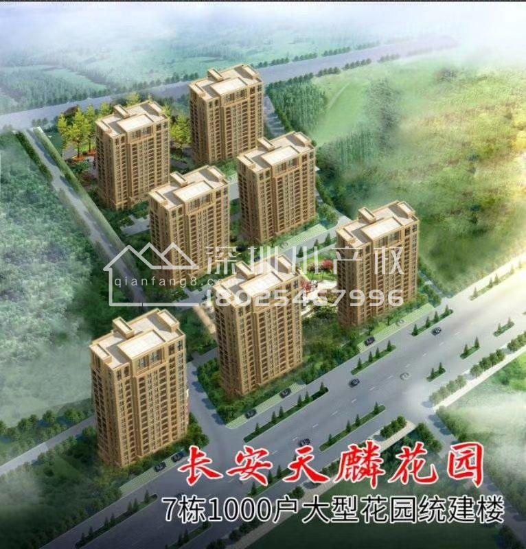东莞长安7栋大型花园小区《天麟花园》,使用率高达90%,近万达广场