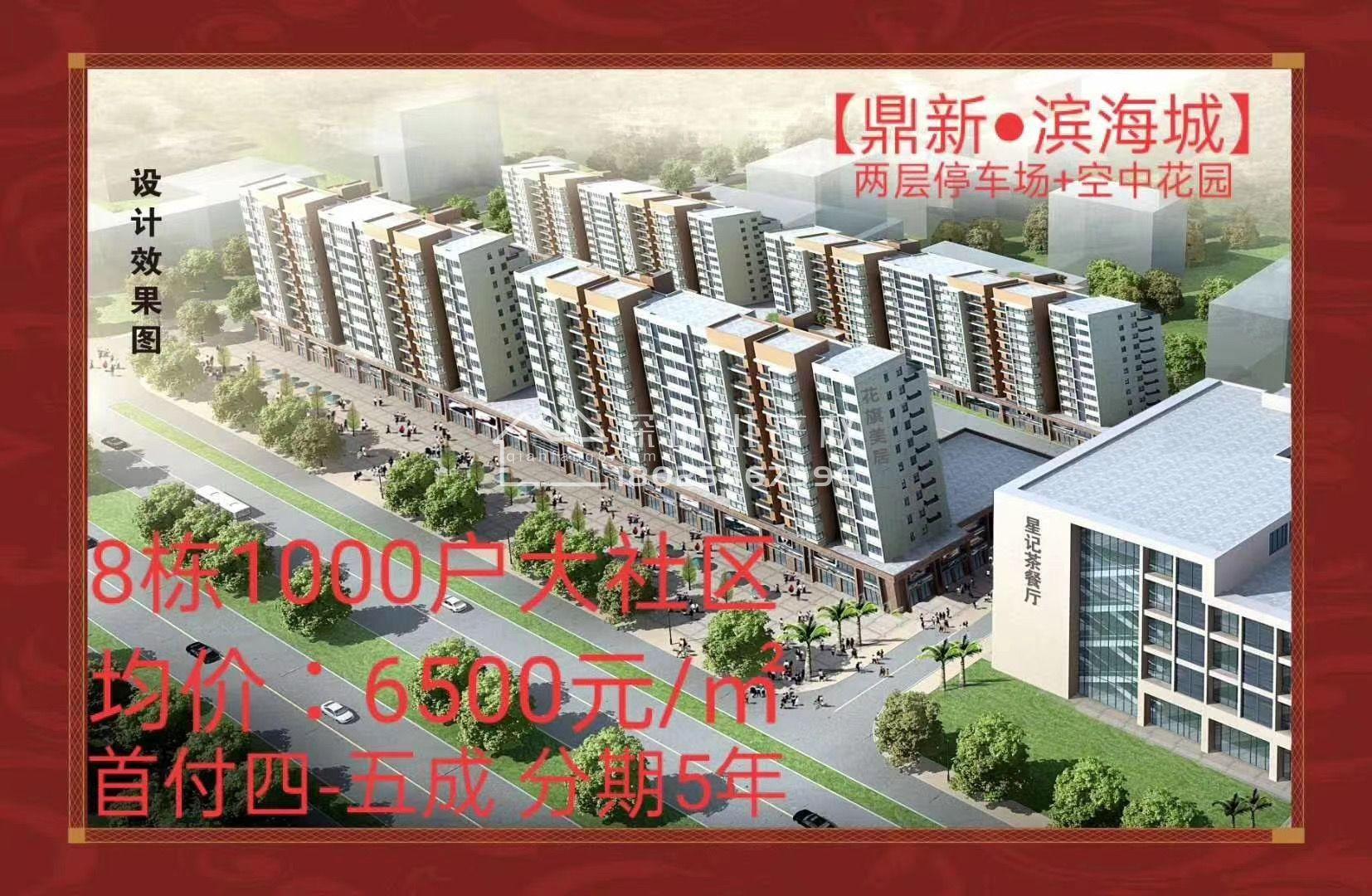 长安西站8栋花园小区【鼎新滨海城】5388起价带双层车库开盘啦