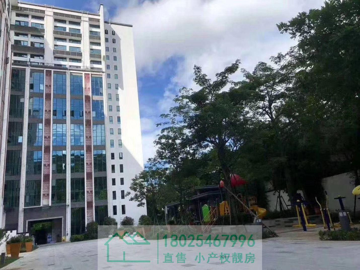 布吉文博宫花园小区房,三房总价125万/套起,月租金3800元起