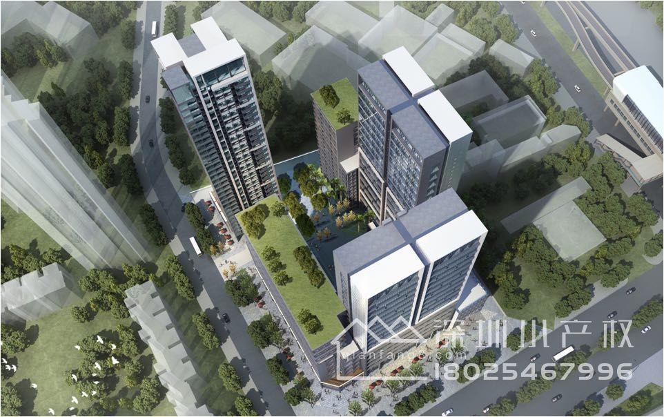 龙岗4栋大红本房【时代公馆】总价75万起,双层地下车库,地铁站300米!