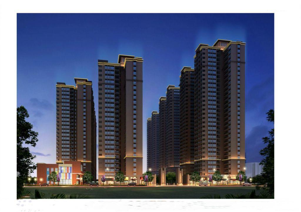 5栋规模封闭式小区【沙井公寓】带停车位地铁口步行实测800米二房105万