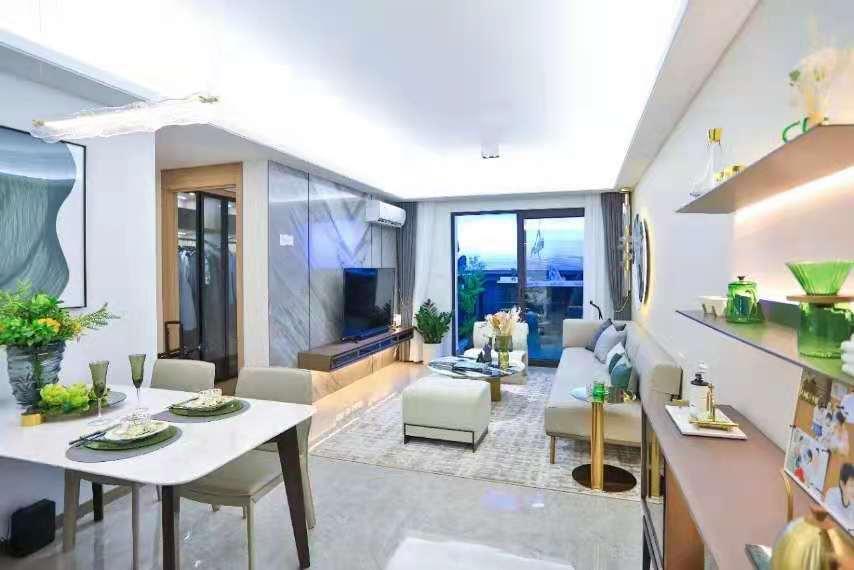 长安滨海新区四栋300户大社区【 滨海湾未来城】超低均价5800/㎡ 起